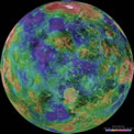 Hemispheric View of Venus